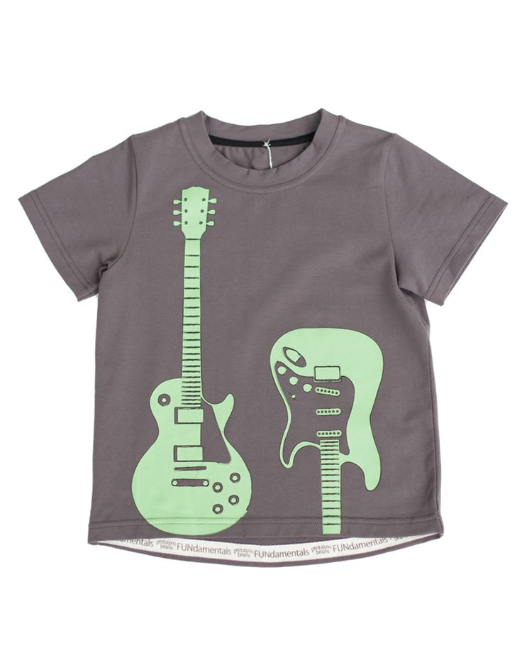 Peekaboo Beans - Feel The Beat Tee - Your bean will be rockin in this cool graphic tee. Contact your local Play Stylist or shop onvine at www.peekaboobeans.com