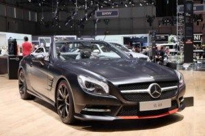 Mercedes-Benz SL 417 Mille Miglia special edition only 500 units at 2015 Geneva Motor Show
