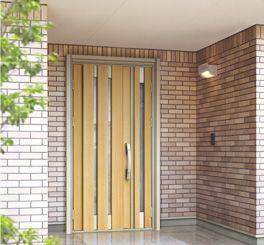 玄関リフォーム商品 かんたんドアリモ | YKK AP株式会社
