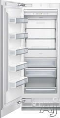 """Thermador T30IF800SP 30"""" Built-in Fully Flush Freezer Column with 15.7 cu. ft. Capacity, Metal Freezer Shelves, Internal Ice Maker, LED Side..."""