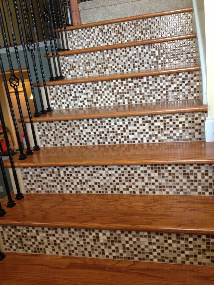 53 Best Stair Riser Ideas Images On Pinterest Ladders