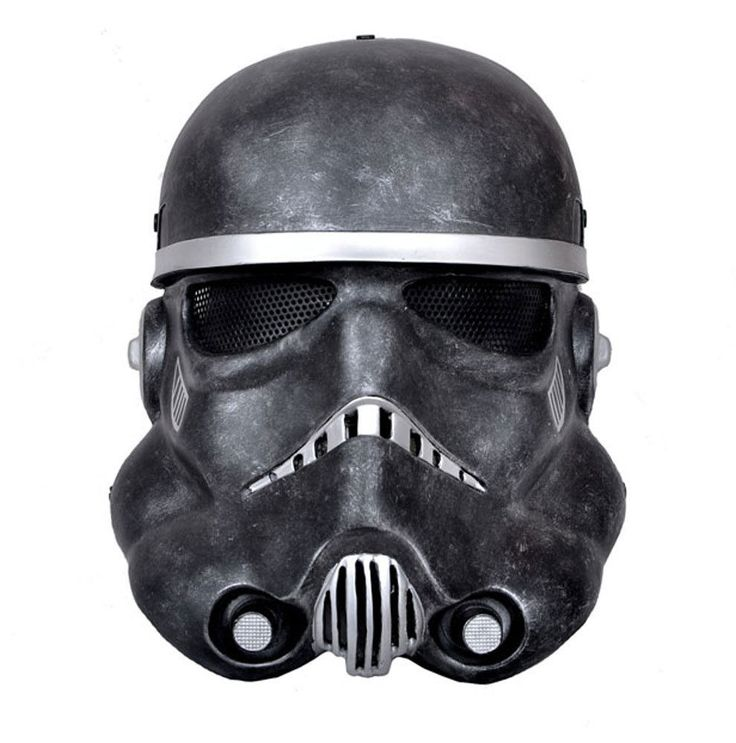 Paintball Airsoft Black Mesh Full Face Protection Mask Prop Cosplay M0362 #FMA