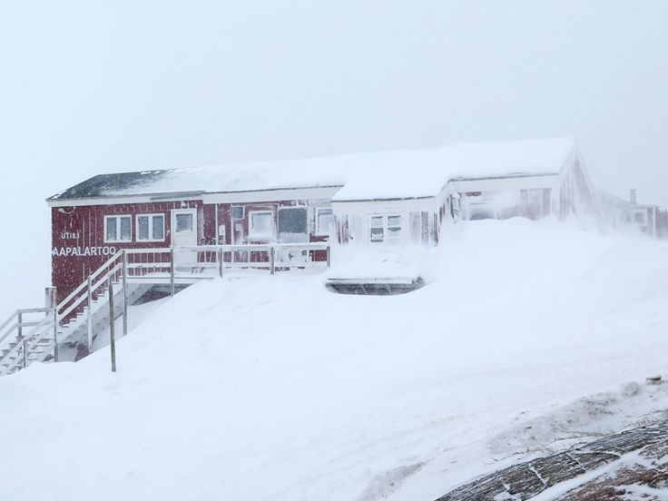 EAST GREENLAND # Tasiilaq # The Red House # Photo by Ulrike Fischer
