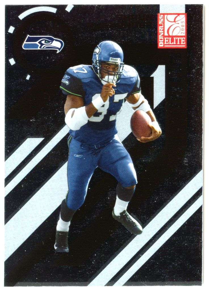 Shaun Alexander # 83 - 2005 Donruss Elite Football