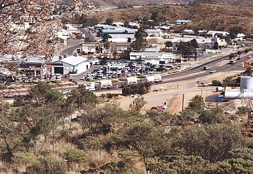 Alice from ANZAC hill to the west 1998