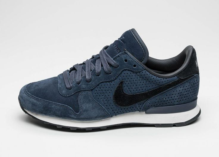 Nike Internationalist LX (Dark Obsidian / Black - Obsidian)