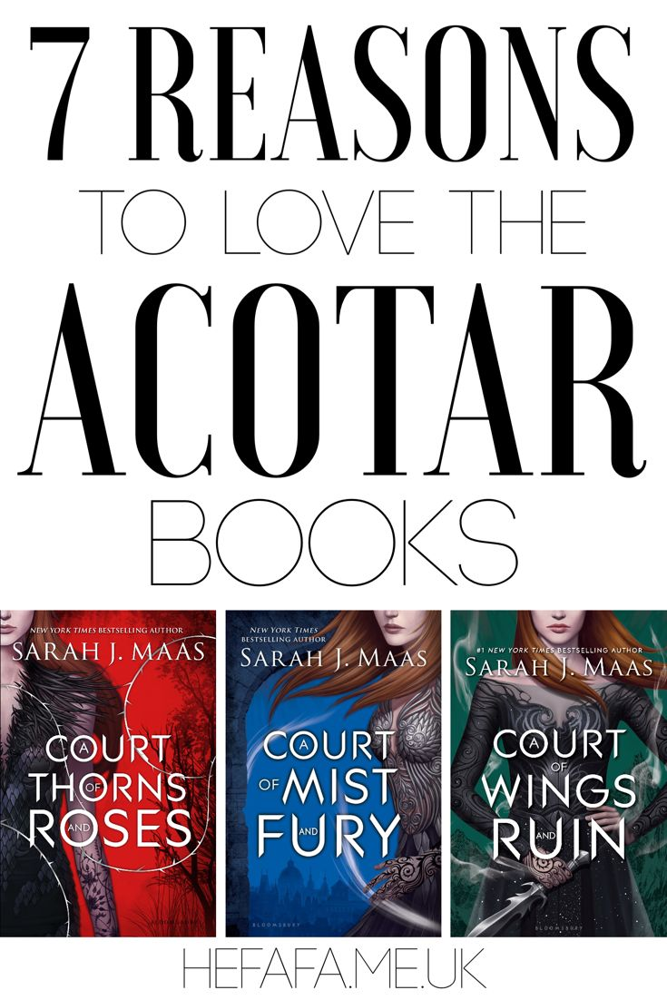 7 Reasons to Love the ACOTAR books... If you've not read them yet I'd definitely recommend Sarah J. Maas' series, A Court of Thorns and Roses. Best books I've ever read - and here are 7 reasons why you should love them too! 🙈📚