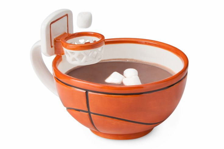Perfect for hot cocoa this season! #winter #basketball #hotchocolate