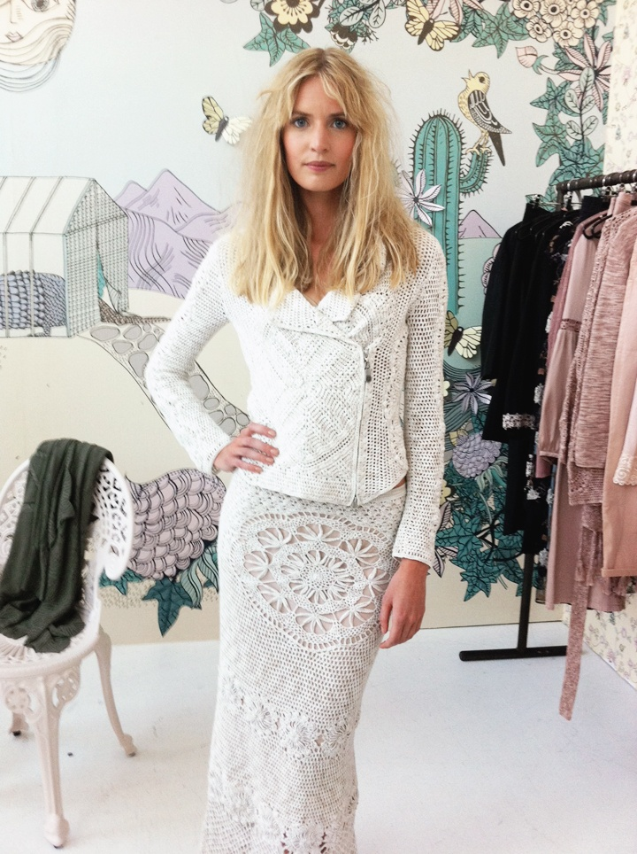 The Swedish fashion magazine Damernas Värld shows a small preview of the Spring 2013 collection from the Swedish ready-to-wear brand Odd Molly.
