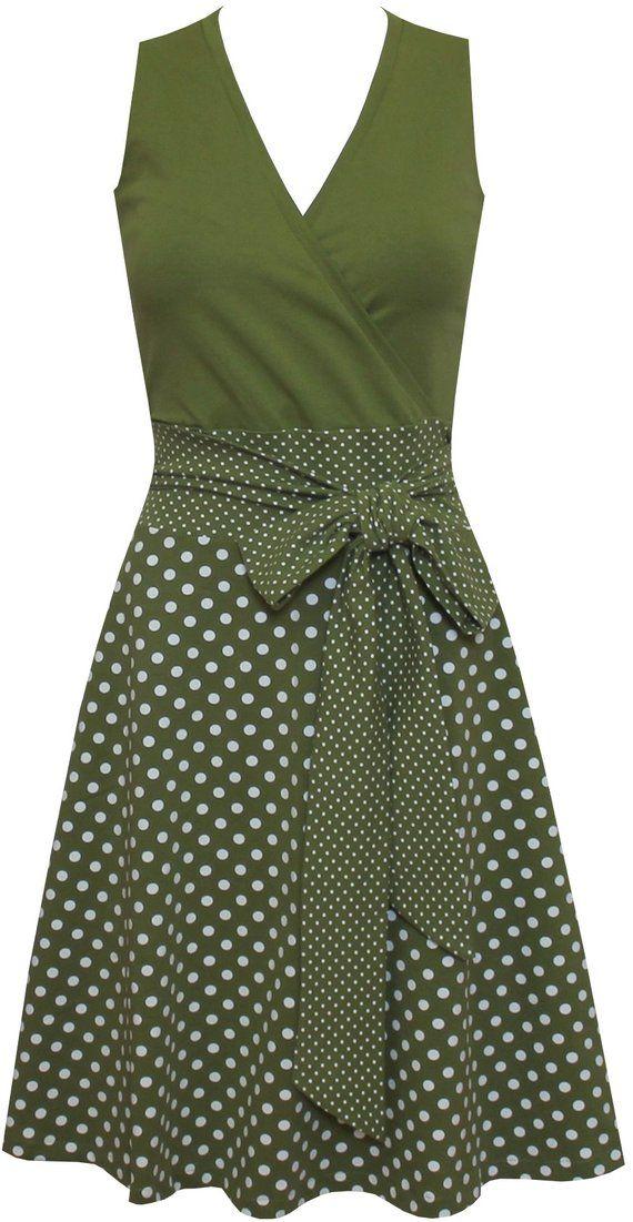 Kleid Sophie dots allover in vielen Farben