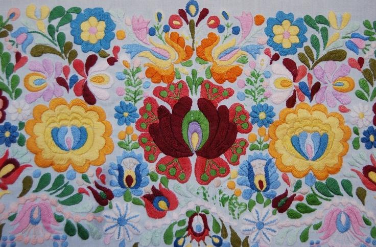 Matyo embroidery fom Hungary