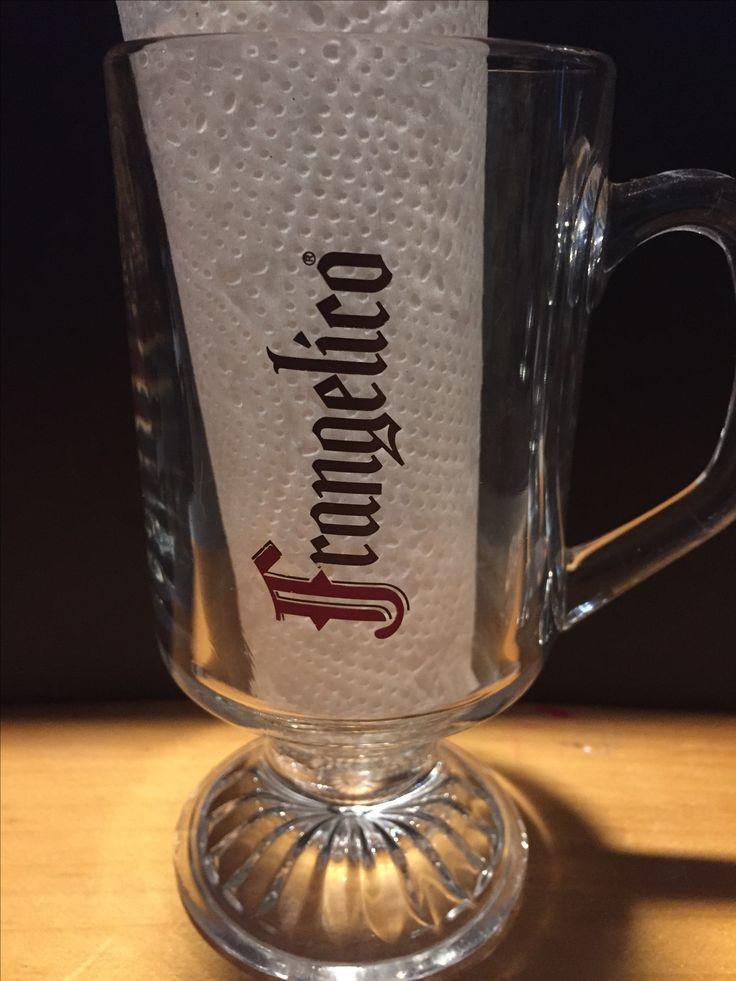 Frangelico Warm drink glass