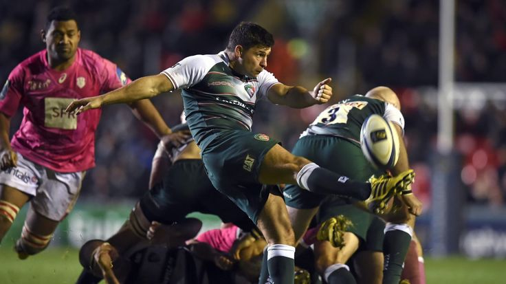 Ben Youngs (Leicester) #ChampionsCup Leicester Tigers 33-20 Stade Francais Paris