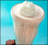 """""""fakeout shakeout"""" oreo shake. the goodness of a milkshake without all the excess calories."""