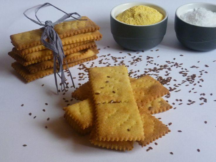 crackers al mais, ricetta con esubero - Creando si impara