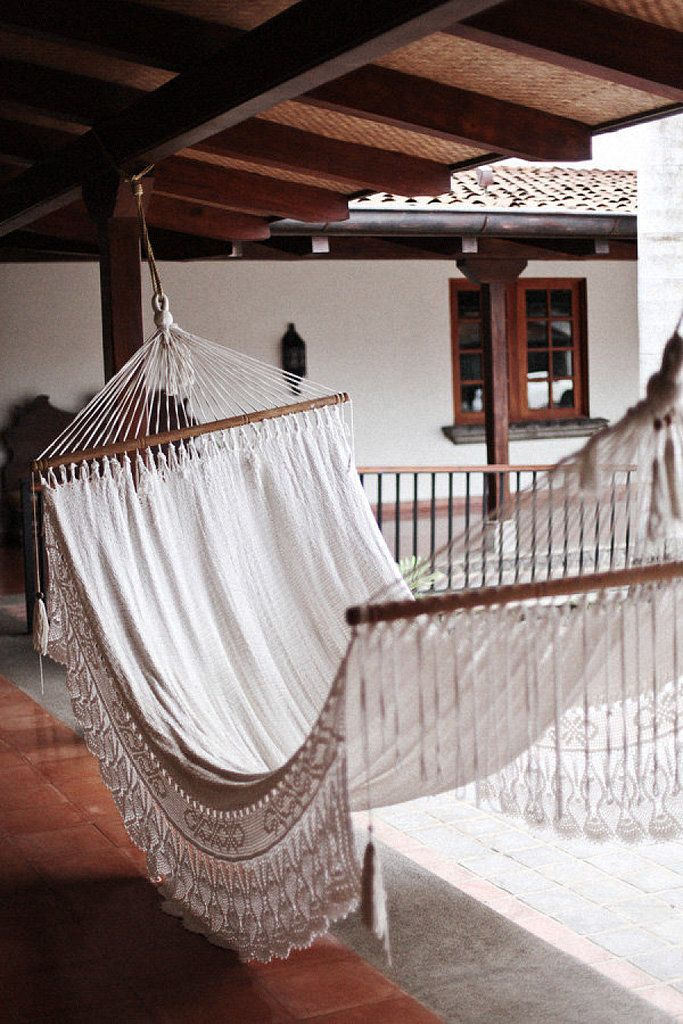 DIY:  Homemade Hammock