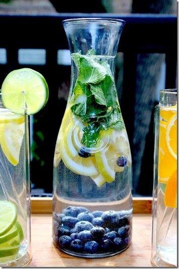 Lemon-Blueberry-Mint