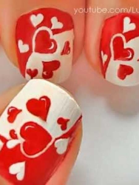 Valentijn Nail Art   Lily's Beauty & Lifestyle