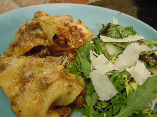 Lasagne med lammfärs