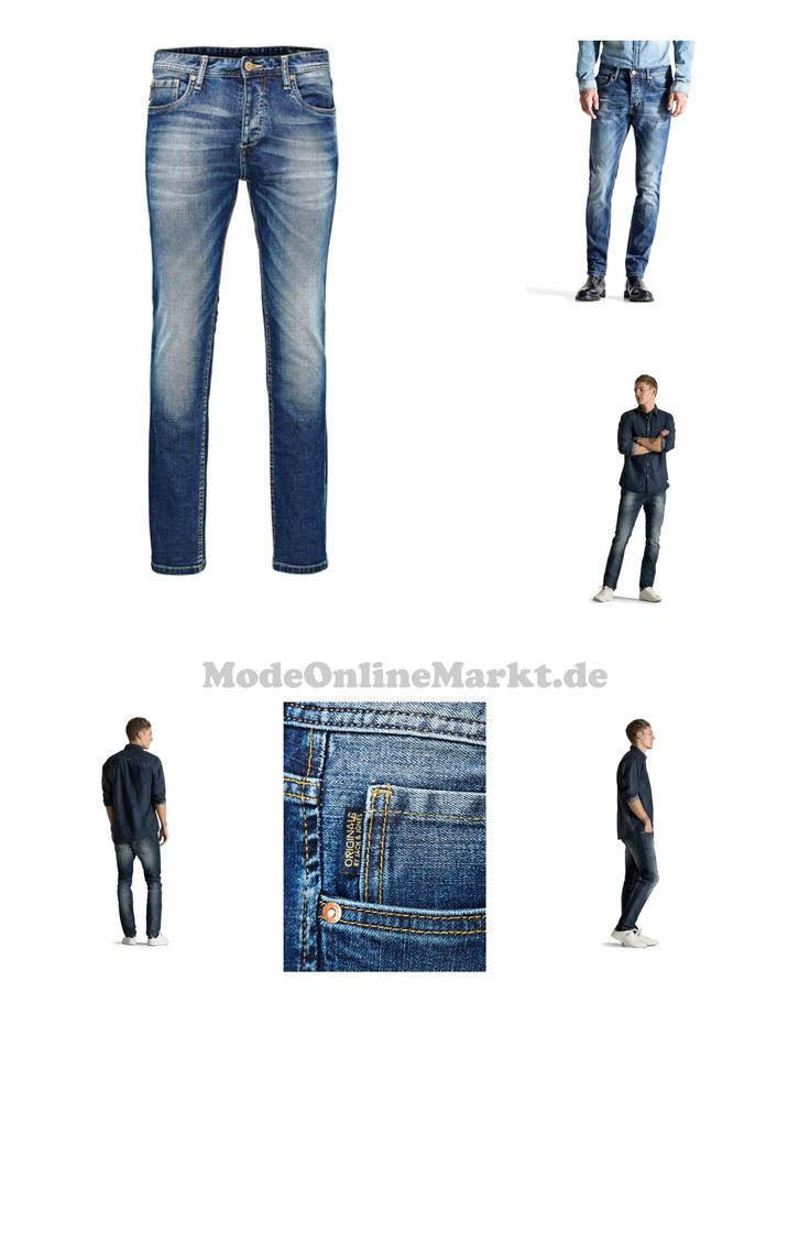 05712419855755 | #JACK  #038; #JONES #Herren #Slim #Fit #Jeans #Jeans #Tim #Original #AT #984 #blau