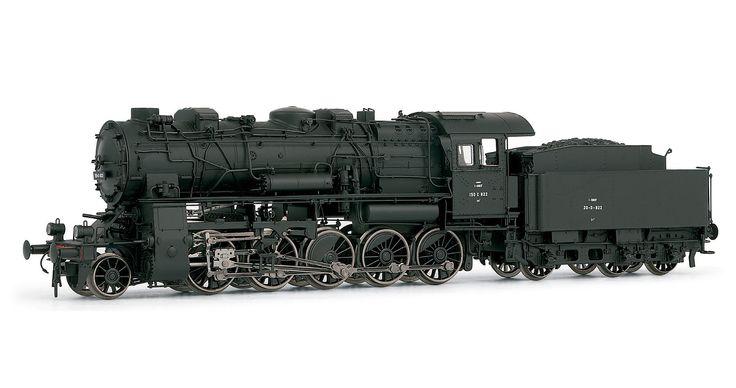 SNCF, steam locomotive 150C 822