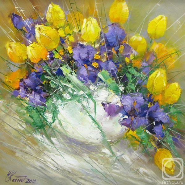 Калашникова Елена. Желтые тюльпаны