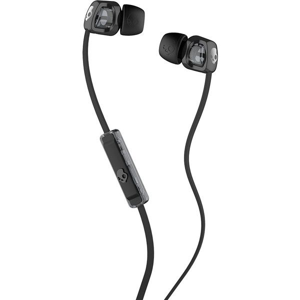 Skullcandy Smokin' Buds 2 Earbuds with Mic ($30) ❤ liked on Polyvore featuring accessories, tech accessories, skullcandy earbuds, earphones earbuds and skullcandy