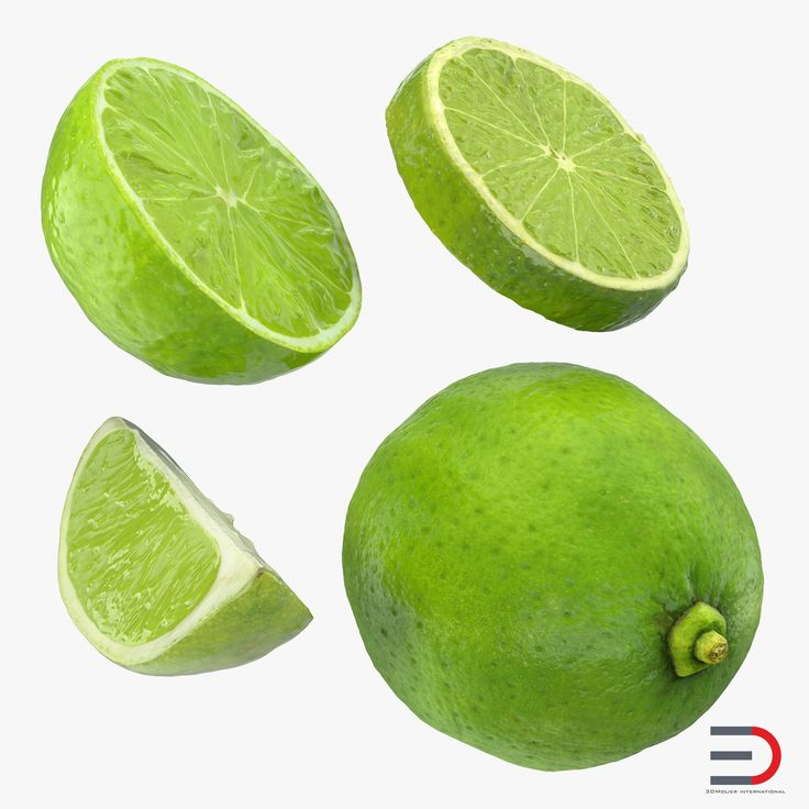 3D Lime Collection