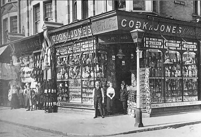 Image Gallery London Street Corner 1900s