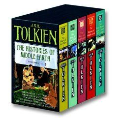 My middle school favorites!History, Volume 1 5, Reading, Book Online, Jrrtolkien, Middleearth Boxes, Boxes Sets, Middle Earth, Jrr Tolkien
