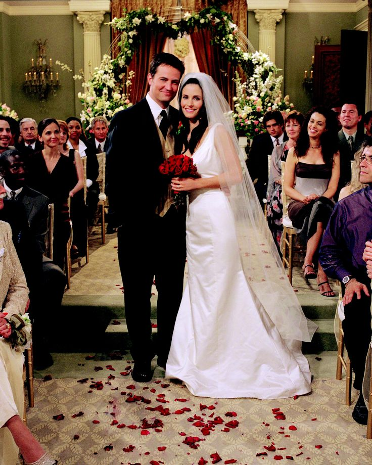 Chandler & Monica's Wedding