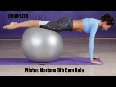 Pilates funcional na bola. - YouTube