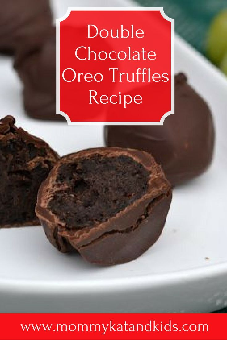 If you love chocolate and Oreos, this treat is for you. They are so irresistible and you only need three ingredients to make them! These double chocolate Oreo cookie balls will make you the star of the party. Make sure you save this to your dessert board so you can find it easily.