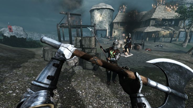 Chivalry: Medieval Warfare available now on Xbox 360