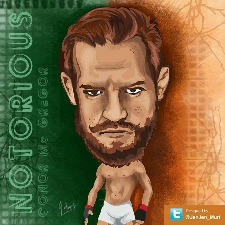 My #illustration of #conormcgregor Conor McGregor #MMA @JenJen_Murf
