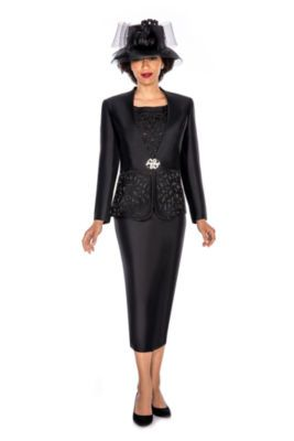 d8f761ad9d Buy Giovanna Collection Women s Cut-Out Detail Embellished 3-Piece Skirt  Suit- Plus at JCPenney.com today and Get Your Penney s Worth.