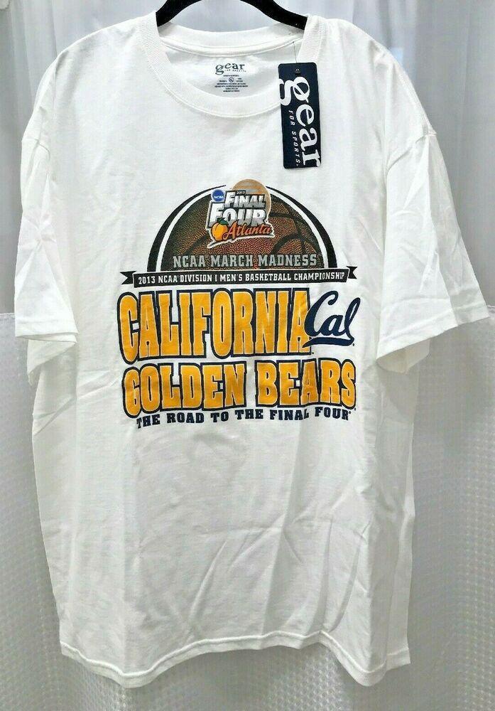 2013 Ncaa March Madness Final Four Cal Golden Bears Xl T