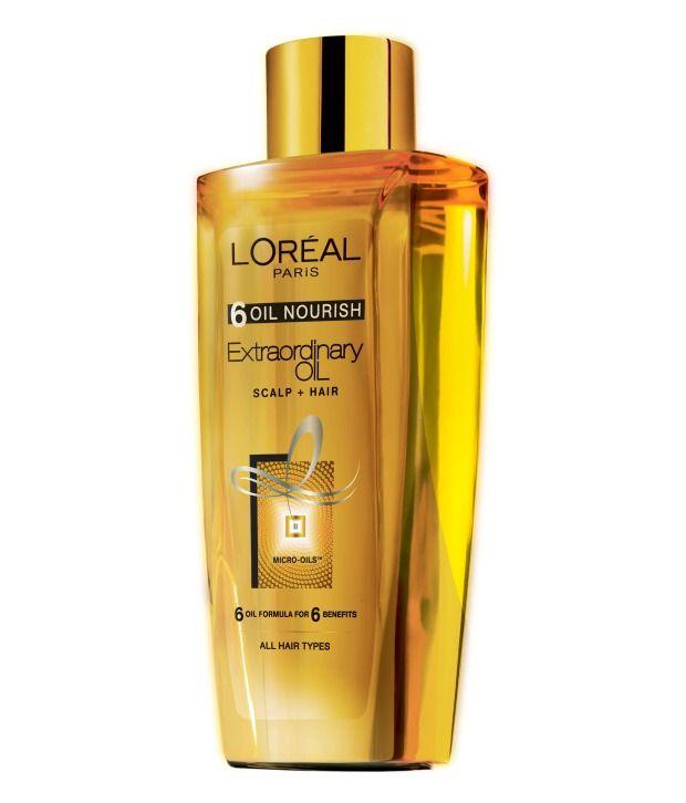 Loved it: L'Oreal Paris 6 Oil Nourish Oil 100 ml, http://www.snapdeal.com/product/loreal-paris-6-oil-nourish/2143162647