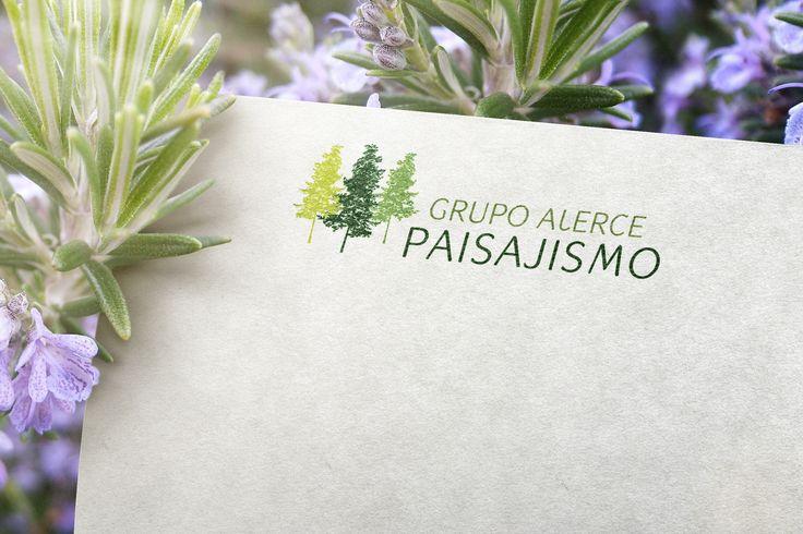 Logotipo Grupo Alerce Paisajismo