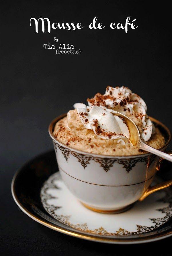 Tía Alia Recetas: Mousse de café para #retotiaalia