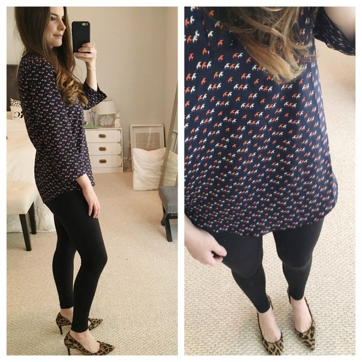 LOVE the print and cut of this blouse! I love whimsical prints like this :)