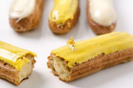 Photo 1 Éclair cardamome - citron jaune & éclair blé noir