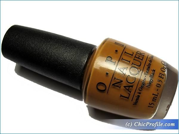 OPI A-Pierce To Be Tan Nail Lacquer Review, Swatches, Before and After Photos