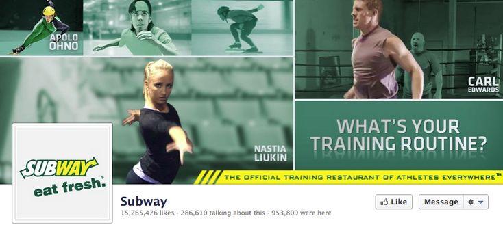 Subway Olympic Athletes