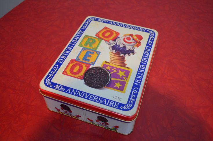 40th Anniversary Oreo Cookie Tin http://cnctbay.wix.com/crowe-s-nest