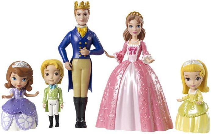 Disney Sofia Den Första med Familj Lekset
