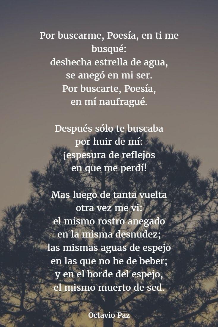 Frases De Octavio Paz Y Una Breve Biografía