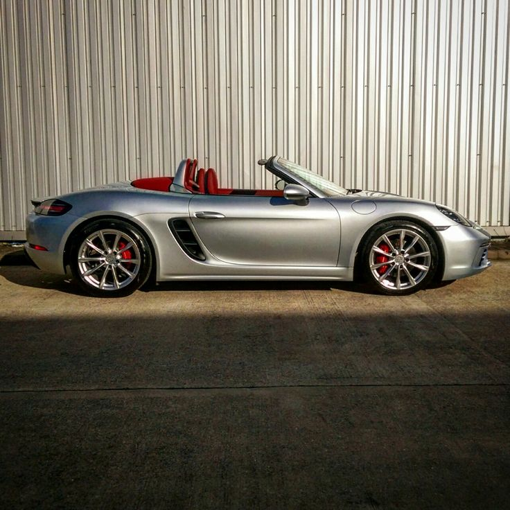 "thewastegate: ""We've had a Porsche 718 Boxster S come into the office. I've not had a proper go yet but it's certainly fast. """