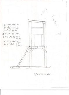 FREE Deer hunting stand plans | Hunting Tips
