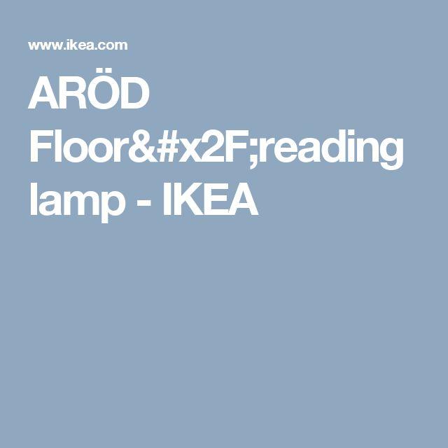 ARÖD Floor/reading lamp   - IKEA